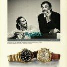 ROLEX - 2001- PATRICK RAFTER & JOHN NEWCOMBE AUSSI TENNIS CHAMPIONS PRINT AD