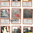 GUINESS WORLD RECORDS - 2012 TURKISH TRADING CARDS SET 1 - 01-09