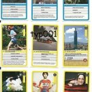 GUINESS WORLD RECORDS - 2012 TURKISH TRADING CARDS SET 7 - 58-66