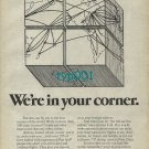 PAN AM - 1974 - WE'RE IN YOUR CORNER PRINT AD