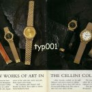 ROLEX - 1990 - THE NEW WORKS OF ART IN THE CELLINI COLLECTION PRINT AD