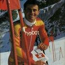 SWISSAIR - 1990 - CUSTOMER PORTRAIT 65 - SKI CHAMP KARL PRINT AD
