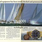 ROLEX - 1990 - ROLEX SWAN WORLD CUP 1990 PRINT AD