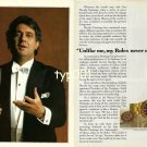 ROLEX - 1990 - PLACIDO DOMINGO PRINT AD