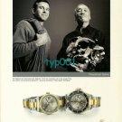 ROLEX - 2002 - ED VIESTURS & HENRI-GERMAIN DELAUSE CLIMBER AND DIVER  PRINT AD