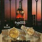 ROLEX - WEMPE JEWELERS - 1992- EXQUISITE TIMEPIECES & JEWELRY PRINT AD