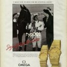 OMEGA - 1990 - SIGNIFICANT MOMENTS - RIDE FOR ME AT THE ROYAL ASCOT PRINT AD