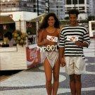 SWISSAIR - 1990 - CUSTOMER PORTRAIT 60 - VANESSA AND BRUNO FROM RIO PRINT AD