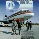 DINERS CLUB - 1984 - FLY THE WORLD - LOCKHEED 1011 TRISTAR - PRINT AD