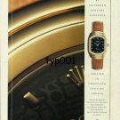 ROLEX - 1998 - INSPIRED BY 16. CENTURY FLORENCE CREATED IN 20. CENTURY PRINT AD