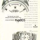 ROLEX - 1998 - ROLEX DAY DATE SPEAKS VOLUMES ABOUT YOU  PRINT AD