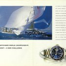 ROLEX - 1999 - ROLEX IMS OFFSHORE WORLD CHAMPIONSHIP - SUBMARINER PRINT AD