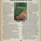 ROLEX - 1978 - TO ENTERPRISING INDIVIDUALS THERE IS A BOOK FOR YOU PRINT AD