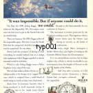 ROLEX - 1993 - IT WAS IMPOSSIBLE NORWEGIAN POLAR EXPLORER ERLING KAGGE PRINT AD