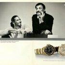 ROLEX - 2001 - PATRICK RAFTER & JOHN NEWCOMBE AUSSI TENNIS CHAMPIONS 2 PRINT AD