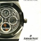 AUDEMARS PIGUET - 1995 - QUITE SIMPLY THE ROYAL OAK PRINT AD