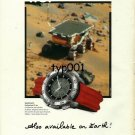 OMEGA - 1998 - NASA TOOK OMEGA TO MOON, ONE DAY IT WILL TAKE US TO MARS PRINT AD
