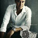 OMEGA - 2010 - GEORGE CLOONEY'S CHOICE SWISS PRINT AD - SEAMASTER