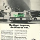 STEWART & STEVENSON - 1973 - THE BIGGER THEY COME, THE BETTER WE LOOK PRINT AD