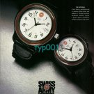 SWISS ARMY- 1996 - BUILT TO LAST THE ORIGINAL PRINT AD