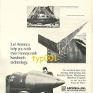 AERONCA INC - 1973 - HONEYCOMB SANDWICH TECHNOLOGY PRINT AD