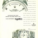 ROLEX - 1999 - SPEAKS VOLUMES ABOUT YOU IN  26 DIFFERENT LANGUAGES PRINT AD