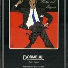 DORMEUIL - 1985 - PRESTIGE & ELEGANCE PRINT AD