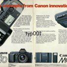 CANON - 1985 - NEW CONCEPTS FROM CANON INNOVATION PRINT AD
