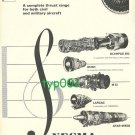 SNECMA - 1973 CONCORDE OLYMPUS ENGINES PRINT AD