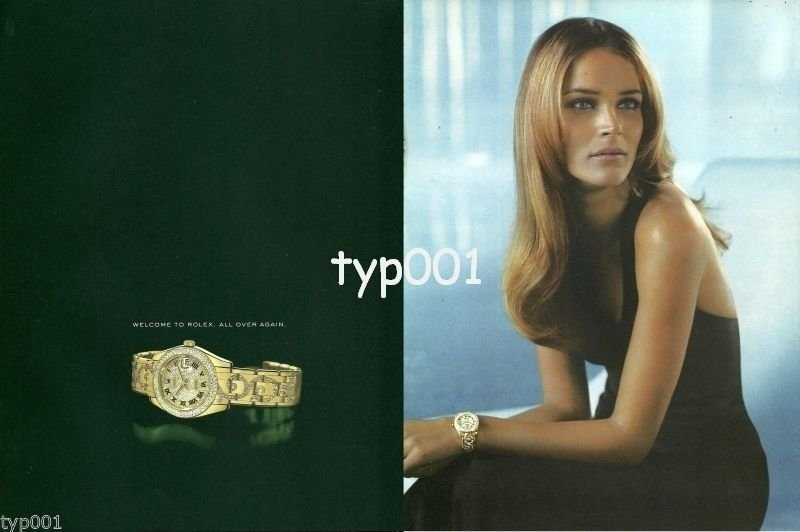 ROLEX - 2004 - THOSE WHO SEE US IN AN ENTIRELY NEW LIGHT -12 PAGES PRINT AD