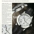 JAEGER LECOULTRE - 2003 - MASTER ANTOINE LE COULTRE WATCH TURKISH ADVERTORIAL