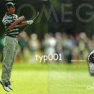 OMEGA - 2005 - SPANISH PRO GOLFER SERGIO GARCIA MY CHOICE PRINT AD