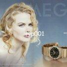 OMEGA - 2007 - NICOLE KIDMAN'S CHOICE PRINT AD
