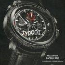 AUDEMARS PIGUET - 2009 - MILLENARY CARBON ONE TOURBILLON CHRONOGRAPH PRINT AD
