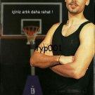 EDORA - 2003 - UNDERWEAR FOR MEN GALATASARAY BASKETBALLER TURKISH PRINT AD