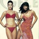 GECEM NEW NIGHT - DEVORE - 2003 SEXY  LINGERIE PANTY BRA EMBROIDERY PRINT AD