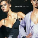 IPEK KIRAMER - 2003 THE COLOR OF THE NIGHT SEXY  LINGERIE TURKISH PRINT AD