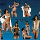 NATUREL - 2003 FANTASIA UNDERWEAR GARTER LINGERIE HOSIERY TURKISH PRINT AD - 2