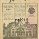 PAN AM - 1963 - GERMANY? - RARE TURKISH PRINT AD