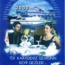 TURKISH MARITIME LINES 2000 CRUISE SCHEDULE & TARIFFS