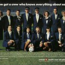 SWISSAIR - 1996 - OUR CREW KNOWS EVERYTHING ABOUT SOCCER EURO 96 PRINT AD