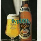 TIGER BEER - 2008 - GOOD AS GOLD AROUND THE WORLD PRINT AD