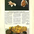ROLEX - 1987- ANTAL DORATI COMPOSER & CONDUCTOR TURKISH PRINT AD
