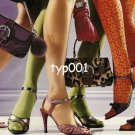 COACH - 2004 - FASHION BAGS SHOES HOSIERY PANTYHOSE 4 PAGE PRINT AD