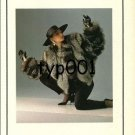 HERCULES FURS - 1988 - LADY IN FUR COAT DESIGNED BY SIMON CHANG PRINT AD