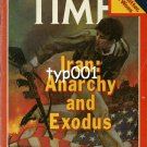 TIME - 1979 - IRAN : ANARCHY AND EXODUS - MAGAZINE COVER ONLY