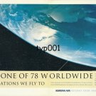 KOREAN AIR - 1996 - ONE OF OUR 78 WORLDWIDE DESTINATIONS PRINT AD
