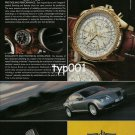 BREITLING - 2006 - BREITLING FOR BENTLEY MOTORS WATCHES PRINT AD