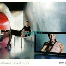 LOUIS VUITTON - 2001 - HANDBAG SHOES BLACK PANTYHOSE SEXY PRINT AD