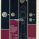 ARLEA - 1968 - LOOSE CLOCWORK MOVEMENTS IN RONDA CALIBRES WATCH VINTAGE PRINT AD